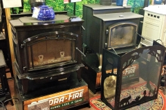 WOOD STOVE DISPLAYS