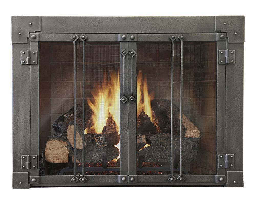 Design Specialties Glass Doors For Masonry Fireplaces