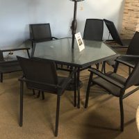 CONTEMPORARY TABLE & CHAIRS